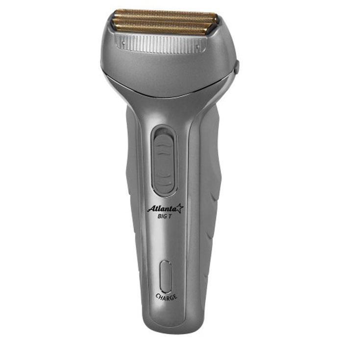 Atlanta ATH-6623 электробритваATH-6623Аккумуляторная бритва Atlanta ATH-6623, обеспечивающая точное гладкое бритье, позволяет сделать этот процесс более комфортным, качественным и совершенно безопасным. Благодаря двум свободно плавающим головкам волоски сбриваются быстро и эффективно, так что процесс бритья займет у вас минимум времени. Кроме того, бритва оснащена встроенным триммером, который позволит вам оформить бороду, усы или бакенбарды. Подходит для сухого и для влажного бритья. Благодаря мощному аккумулятору, бритва на одной подзарядке способна работать до 10 дней.Как выбрать электробритву. Статья OZON Гид