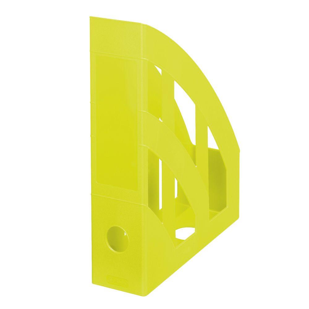 Herlitz Подставка для документов Classic цвет лимонный - Лотки, подставки для бумаг