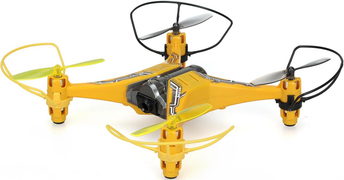 Silverlit Квадрокоптер на радиоуправлении Spy Drone II цвет желтый черный