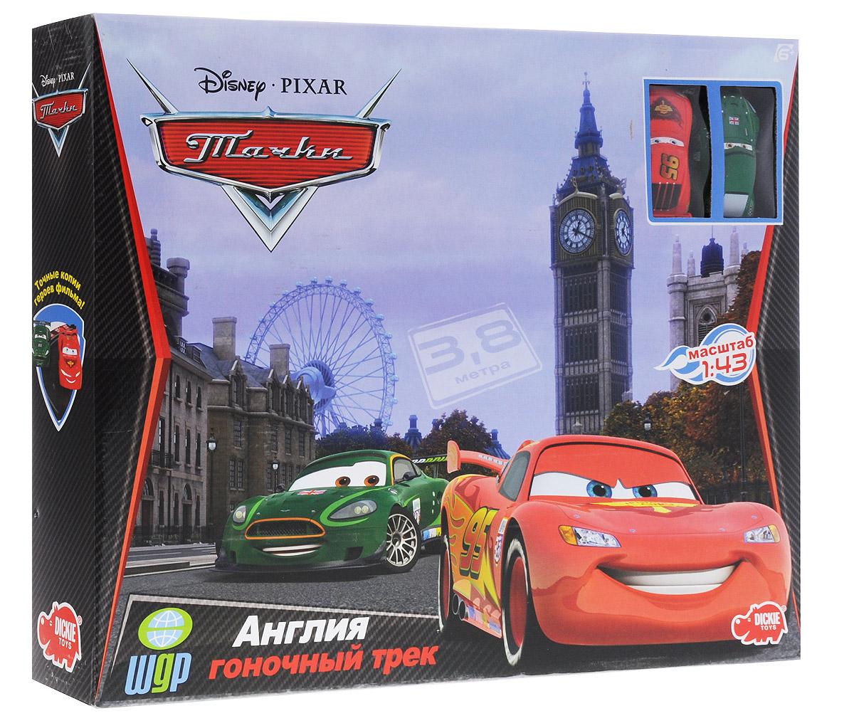 Dickie Toys Гоночный трек Англия набор для сборки машинки s2 muscle car deluxe modarri