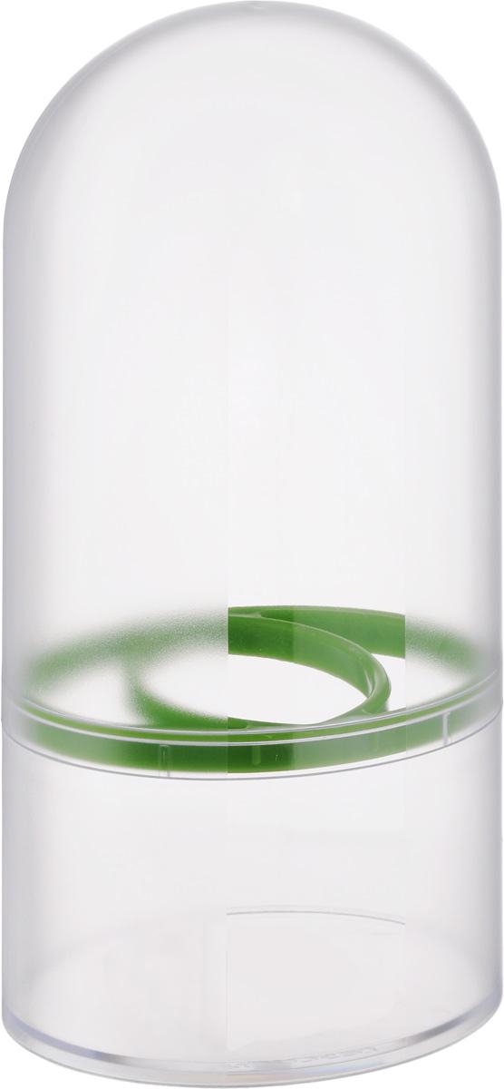 Емкость для хранения трав Tescoma Sense899020Емкость для хранения трав Tescoma Sense выполнена из высококачественного пластика.Именно благодаря этой уникальной емкости ваши травы будут сохраняться свежими круглый год. Только представьте себе, как будут смотреться на вашем кухонном столе пучки свежих трав. Это словно держать под рукой частичку лета. Внутри емкости создается отдельный микроклимат, который не позволяет распространяться плесени и бактериями. Вам больше не придется держать все свои специи засушенными.Можно мыть в посудомоечной машине.