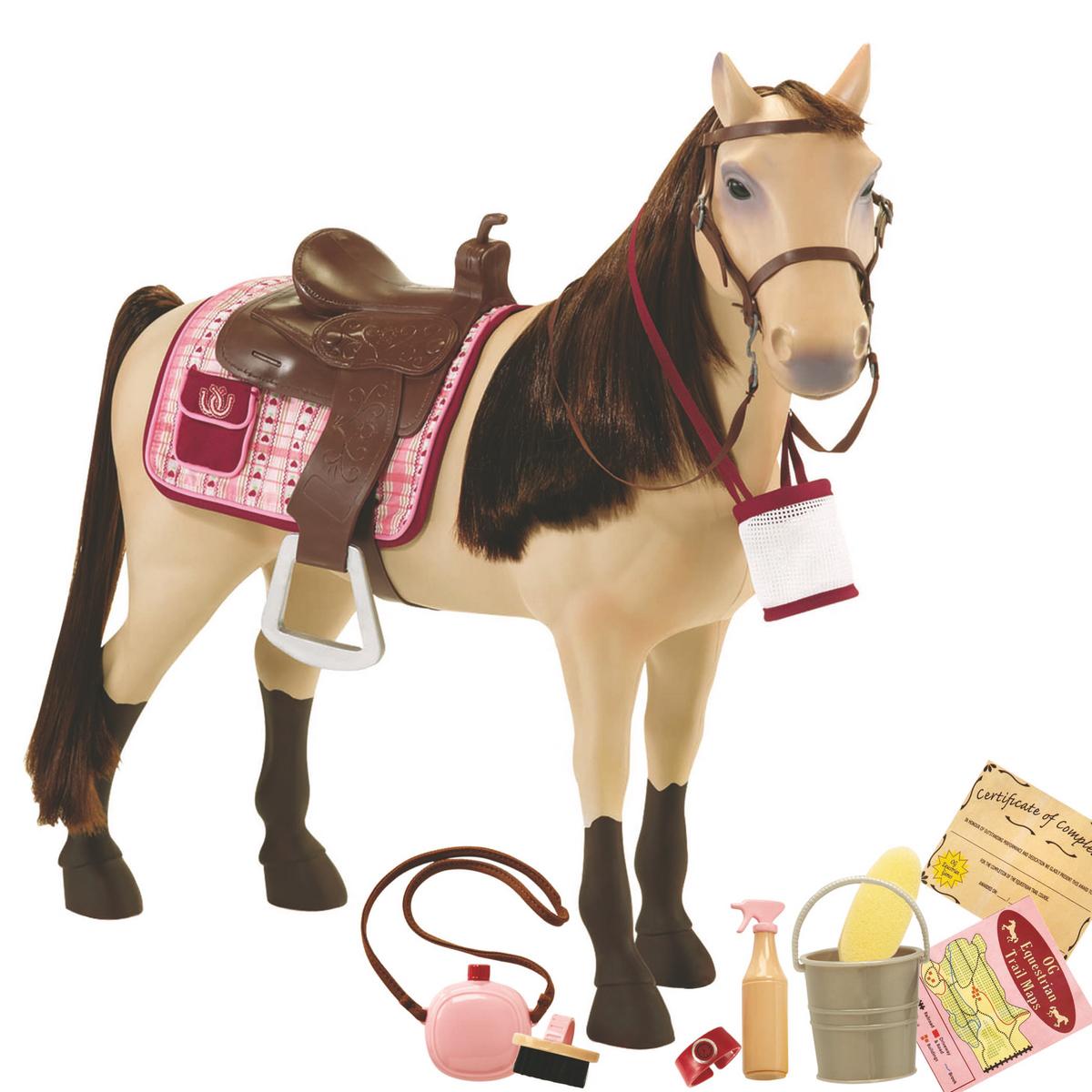 Our Generation Лошадь породы Морган с аксессуарами