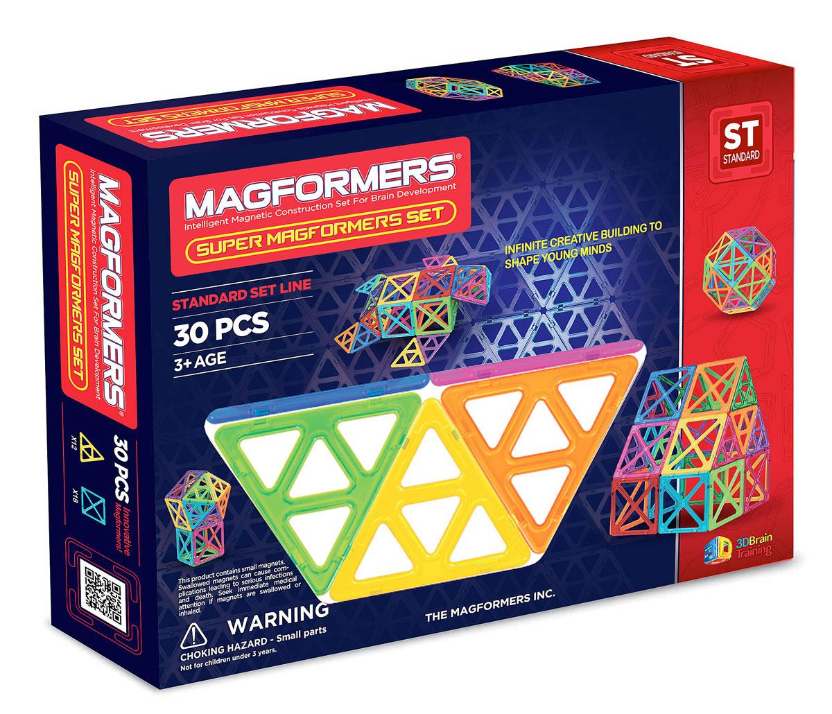 Magformers Магнитный конструктор Super Magformers Set