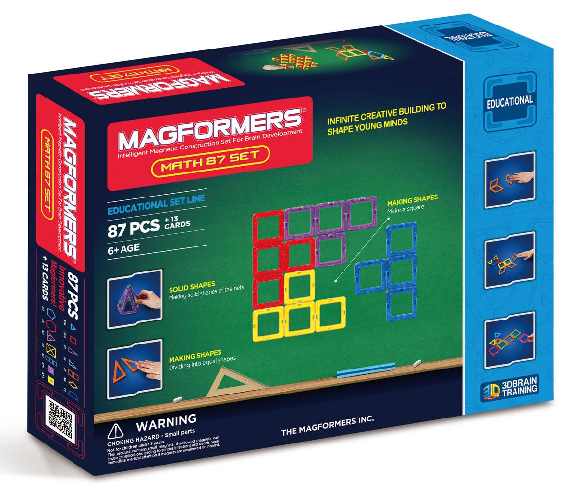 Magformers Магнитный конструктор Увлекательная математика magformers my first magformers 30