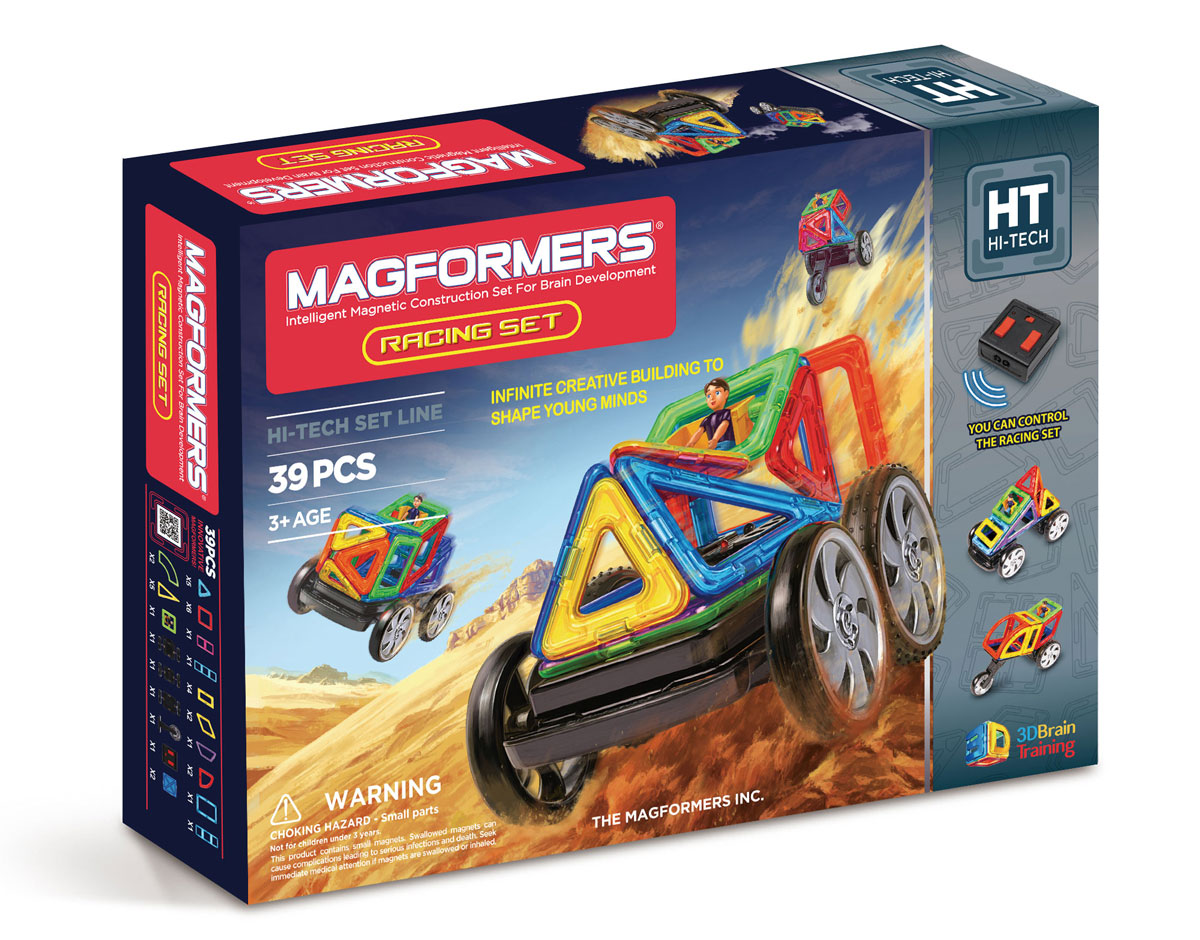 Magformers Магнитный конструктор Racing Set magformers build up set