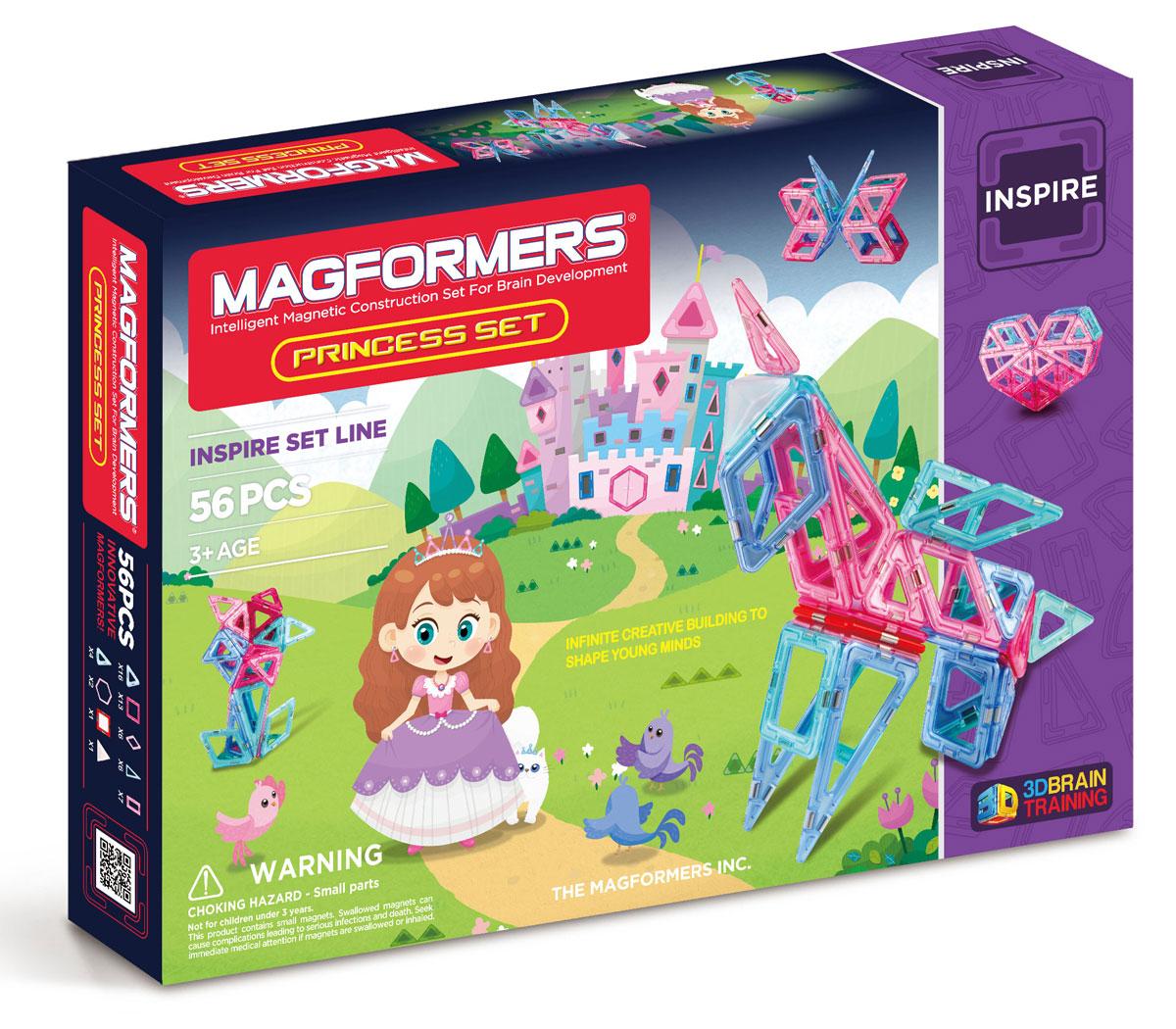 Magformers Магнитный конструктор Princess Set магнитный конструктор magformers space treveller set 35 элементов 703007