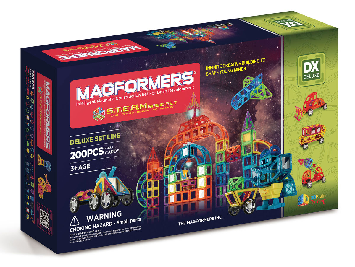 Magformers Магнитный конструктор STEAM Basic Set gerador de ozonio medicinal mog003