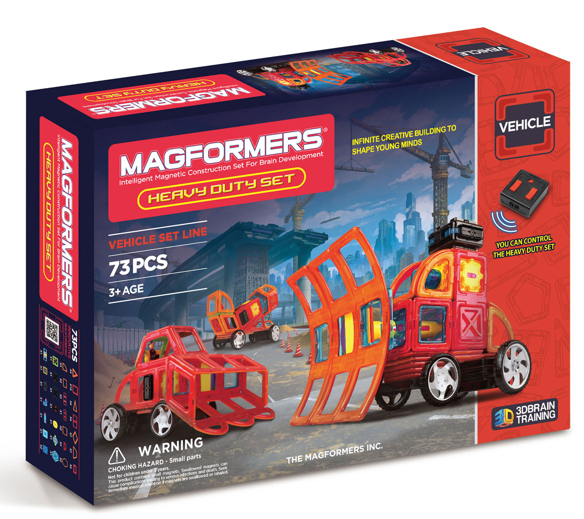 Magformers Магнитный конструктор Heavy Duty Set дырокол deli heavy duty e0130