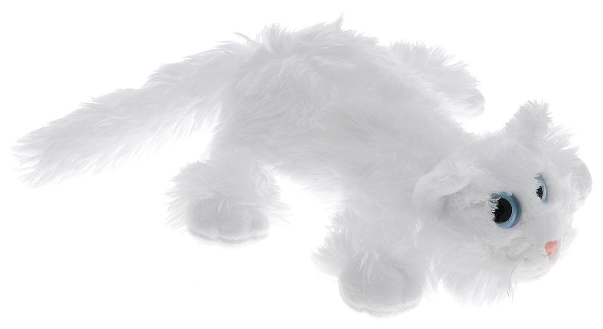 Gulliver Мягкая игрушка Котик Шалунишка цвет белый 22 см игрушка collecta котик шалунишка 18 3001 1