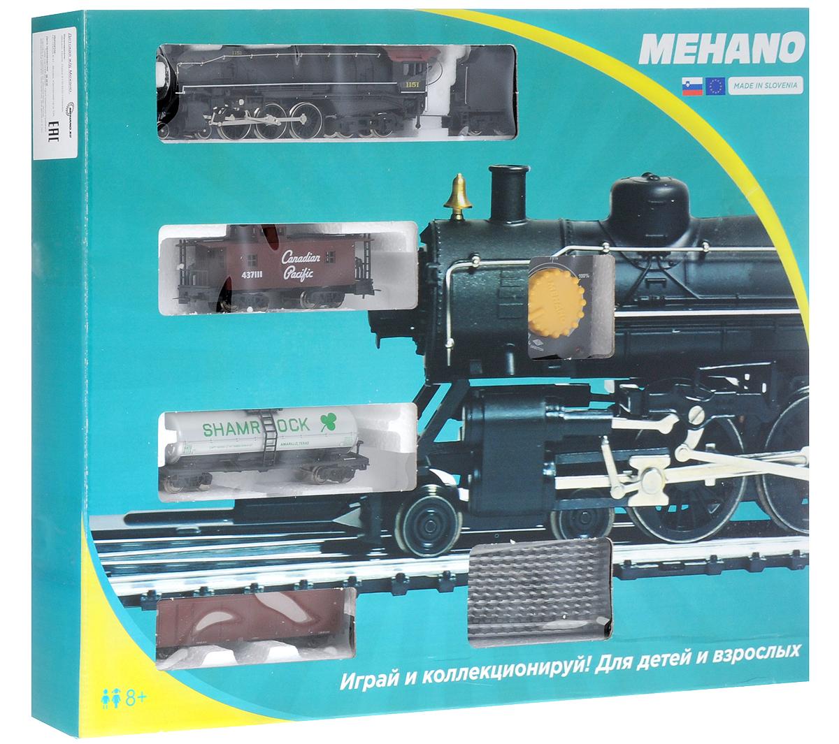 Mehano Железная дорога Prestige с паровозом Lackawanna 1151