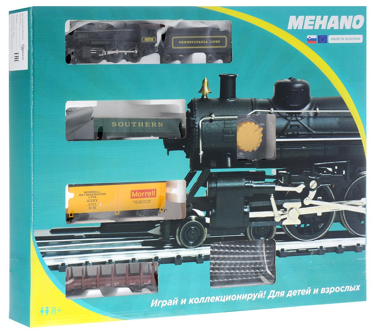 Mehano Железная дорога Hobby Mogul с паровозом Pennsylvania Lines 8279 - Железные дороги