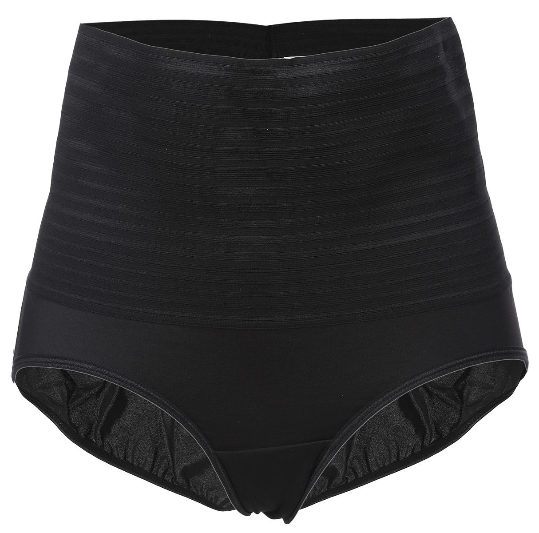 Трусы-слипы женские Lowry, корректирующие, цвет: черный. LSW-3. Размер XL (48/50) трусы lowry трусы 3 шт