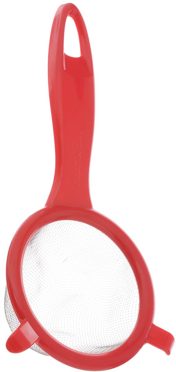 Сито Tescoma Presto, цвет: красный, диаметр 8 см сито tescoma presto цвет светло зеленый диаметр 14 см page 3