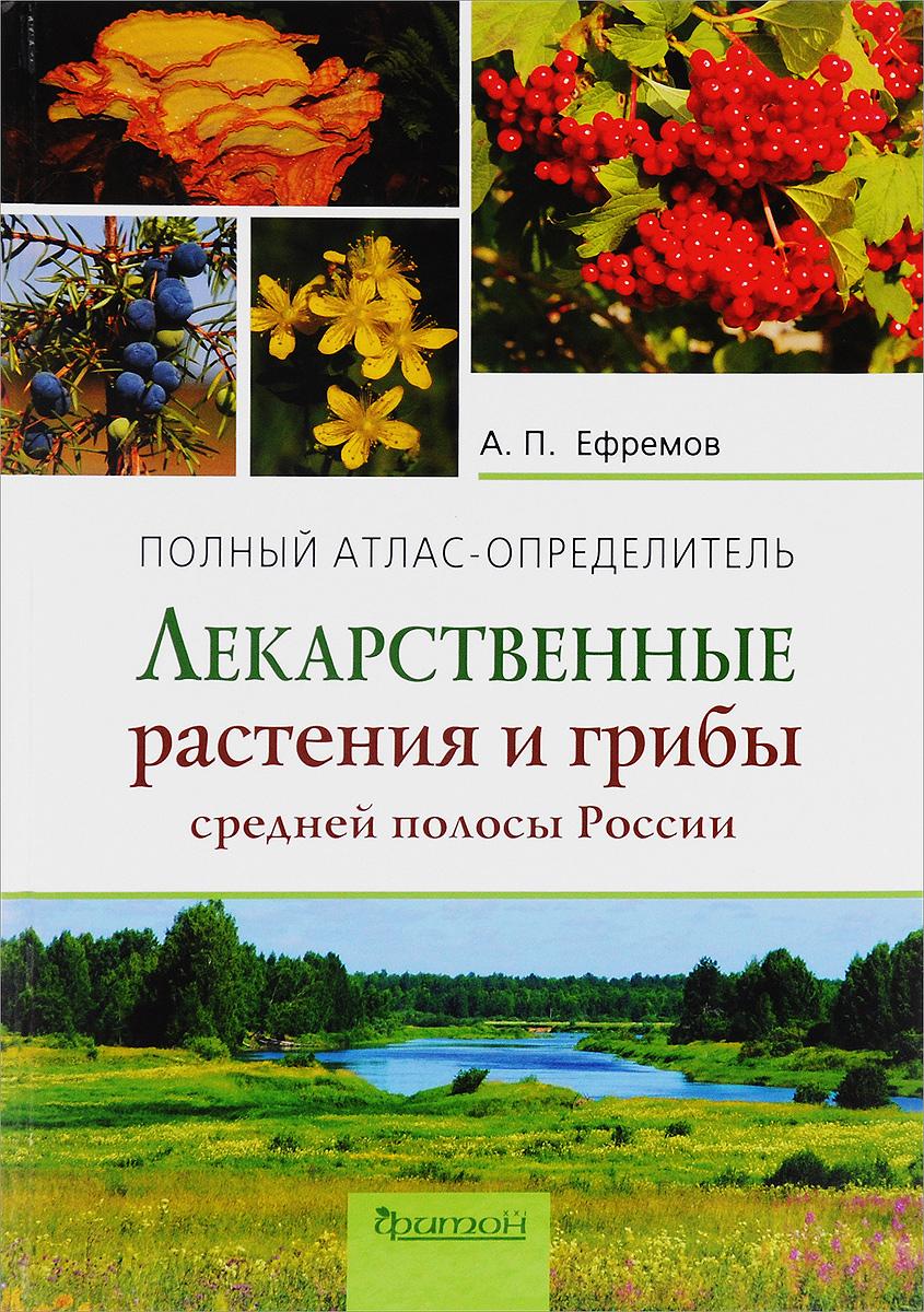А. П. Ефремов Лекарственные растения и грибы средней полосы России. Полный атлас-определитель