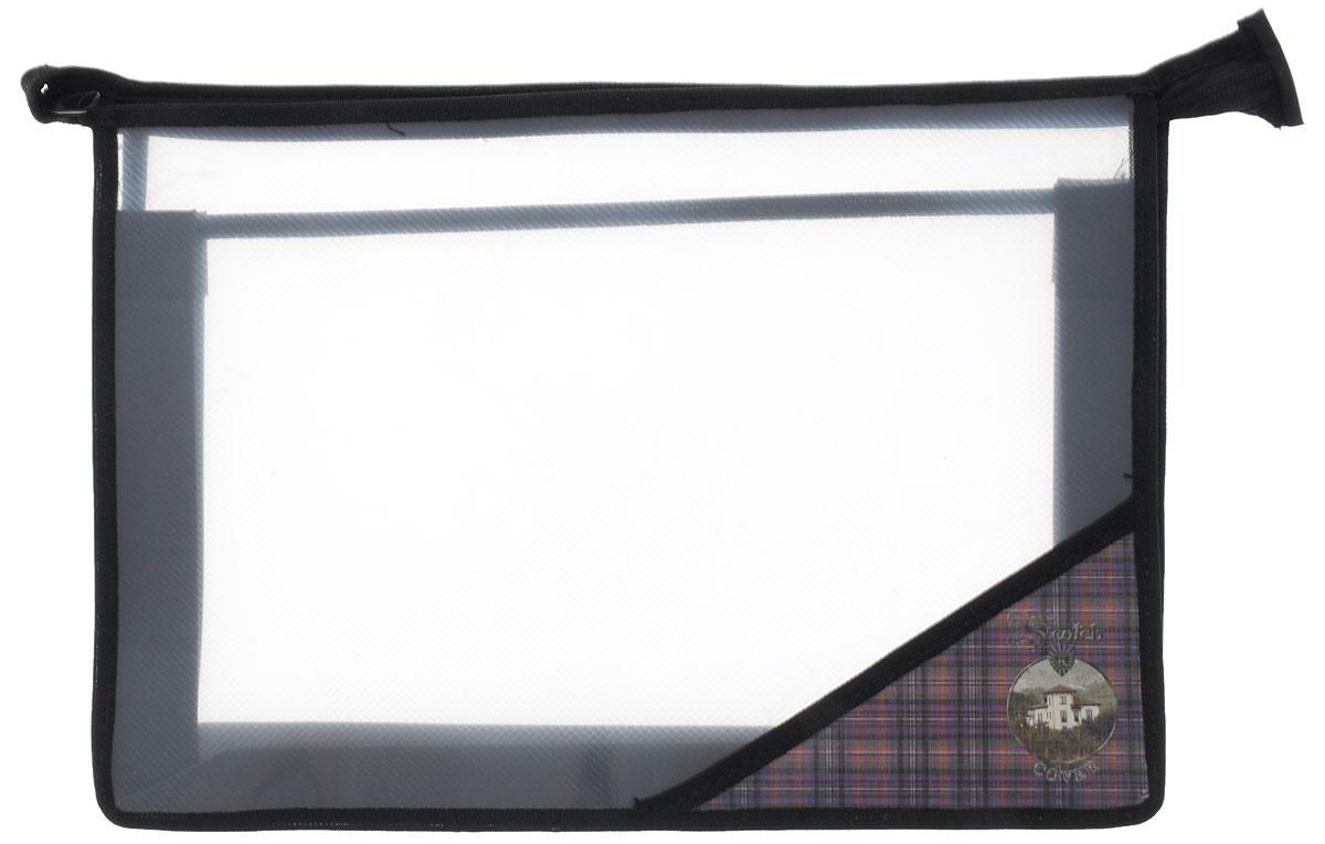 Action! Папка для тетрадей Шотландия на молнии цвет черныйAFZA4/2-8_черныйПапка Action! Шотландия на молнии предназначена для хранения тетрадей, рисунков и прочих бумаг с максимальным форматом А4. Папка выполнена из прочного материала и содержит два отделения, разделенные прозрачной перегородкой. Закрывается она на застежку-молнию. С папкой Action! Шотландия важные бумаги будут в полной сохранности.