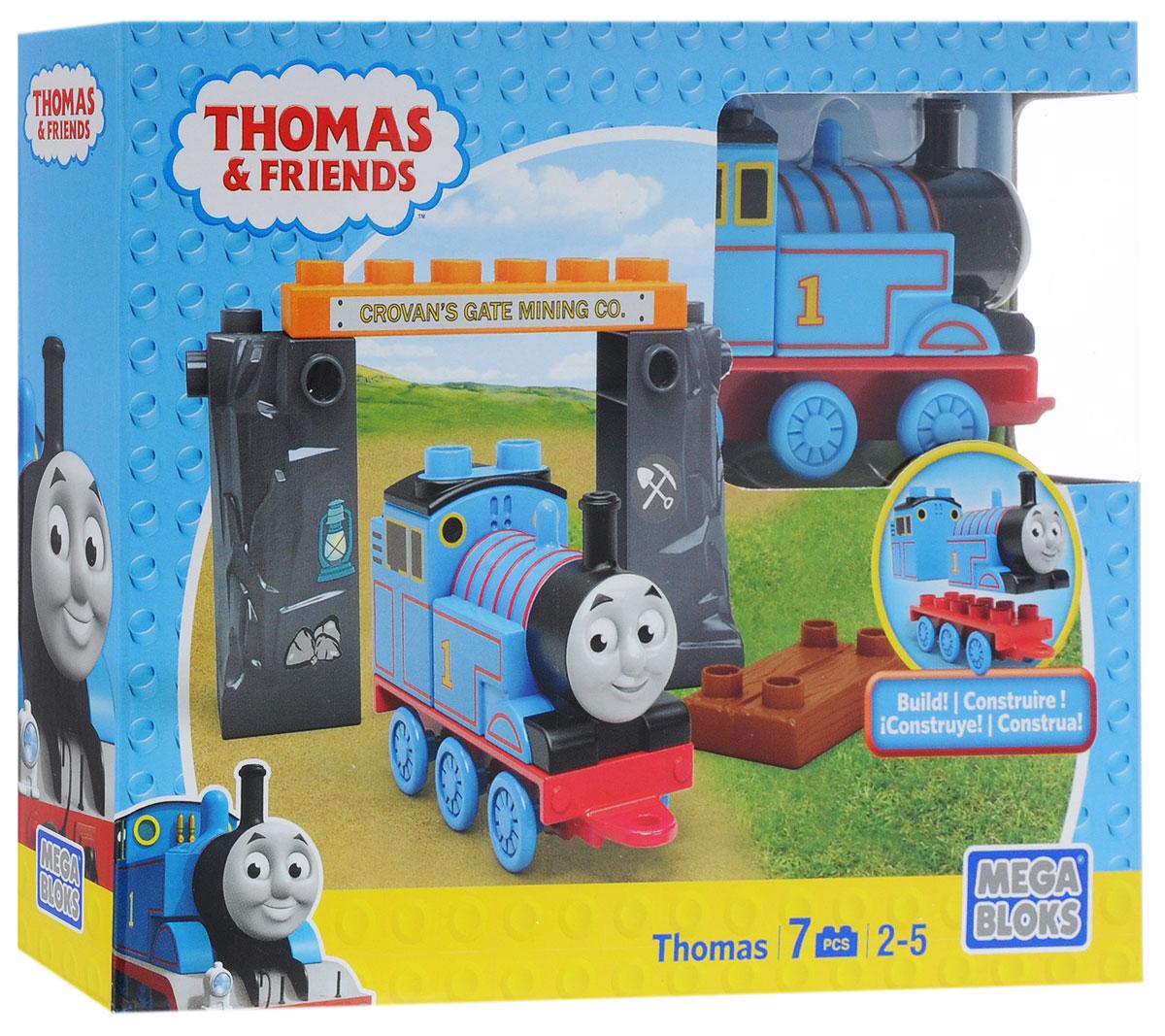 Mega Bloks Thomas & Friends Конструктор Паровозик Томас и шахта конструкторы mega bloks томас и друзья томас и гарольд