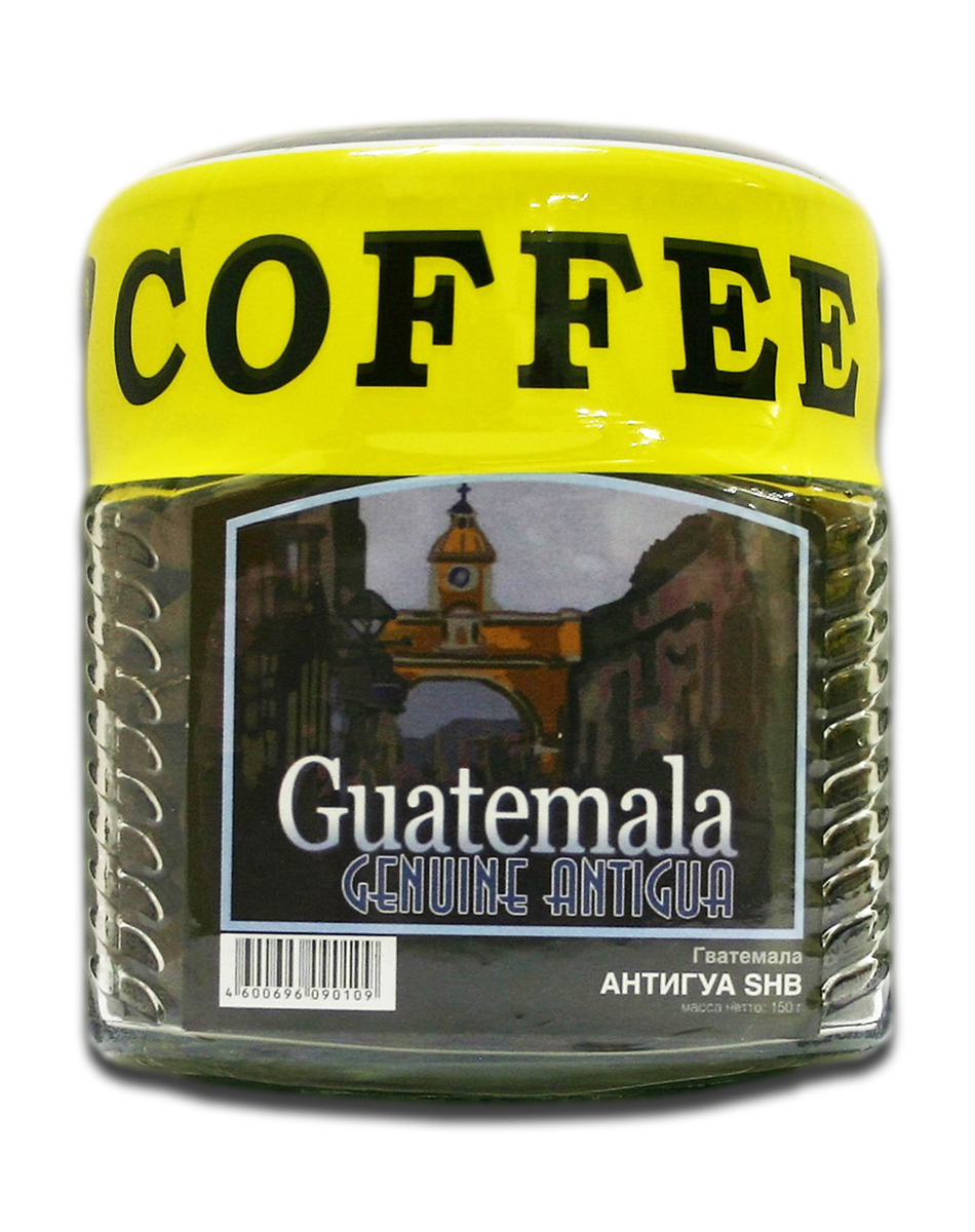 Блюз Гватемала Антигуа SHB кофе в зернах, 150 г (банка)4600696090109Блюз Гватемала Антигуа SHB - центральноамериканский сорт арабики. Выращивается на склонах гор на высоте более 1200 метров над уровнем моря. Имеет ярко выраженный острый вкус, высокую кислотность и особенный, с привкусом дыма, аромат. Настой насыщенный, с долгим мягким послевкусием. Букет богатый, комплексный, с фруктовыми, цветочными и дымными оттенками.Палящее солнце Гватемалы придало сорту Антигуа жгучий и воинственный темперамент диких индейских племен. В кофе они черпали силы, яростно противостоя конкистадорам. Гватемала в переводе означает плодородная земля, и действительно, почва там очень мягкая, а кофе Антигуа SHG - сорт с зернами наивысшей твердости.Кофе: мифы и факты. Статья OZON Гид