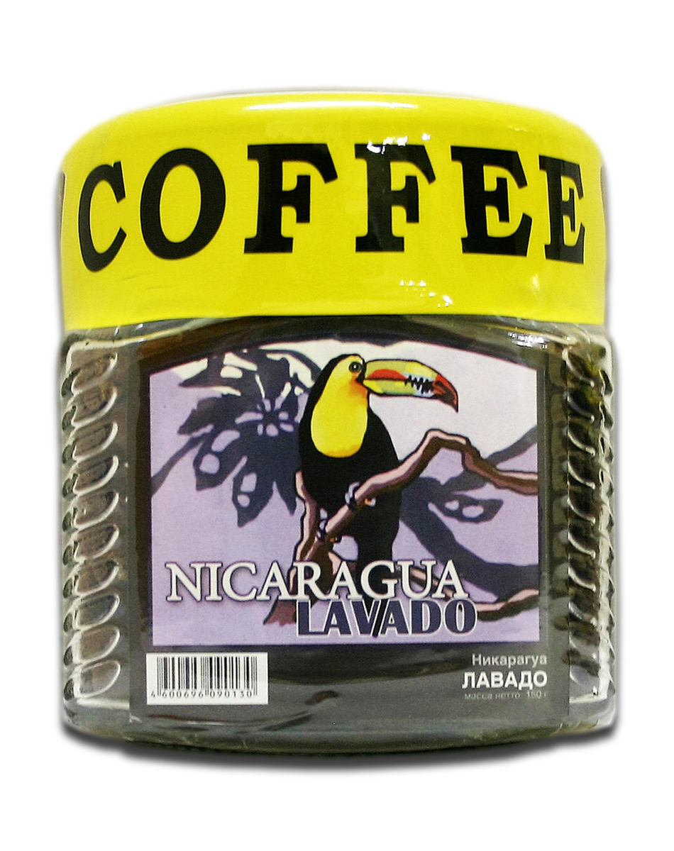Блюз Никарагуа Лавадо кофе в зернах, 150 г (банка)4600696090130Блюз Никарагуа Лавадо - центральноамериканский сорт кофе вида арабика. Кофейные деревья выращивались здесь с давних времен, и поэтому кофе приобрёл самобытный вкус и аромат. Напиток имеет терпкий и сбалансированный аромат, насыщенный настой, а также уникальных вкус.