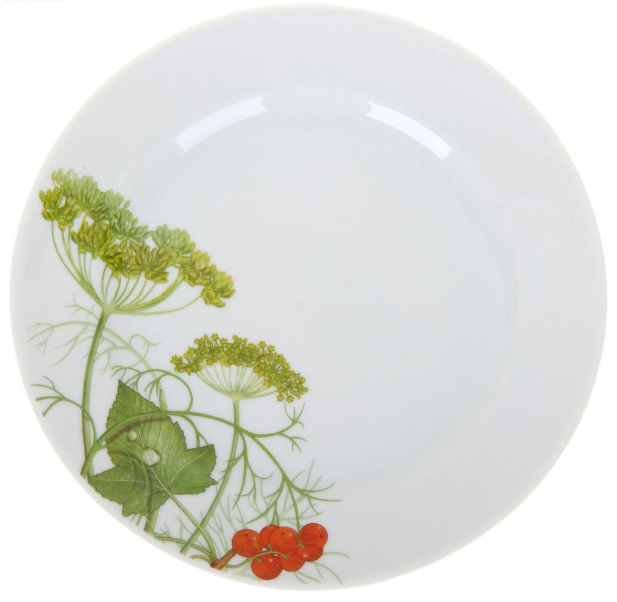 Тарелка мелкая Идиллия. Садочек, диаметр 17 см1224520Мелкая тарелка Идиллия. Садочек выполнена из высококачественного фарфора и украшена ярким рисунком. Она прекрасно впишется в интерьер вашей кухни и станет достойным дополнением к кухонному инвентарю. Тарелка Идиллия. Садочек подчеркнет прекрасный вкус хозяйки и станет отличным подарком. Диаметр тарелки: 17 см.