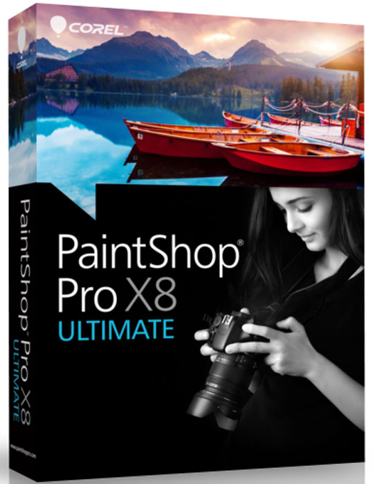 PaintShop Pro X8 Ultimate ESD