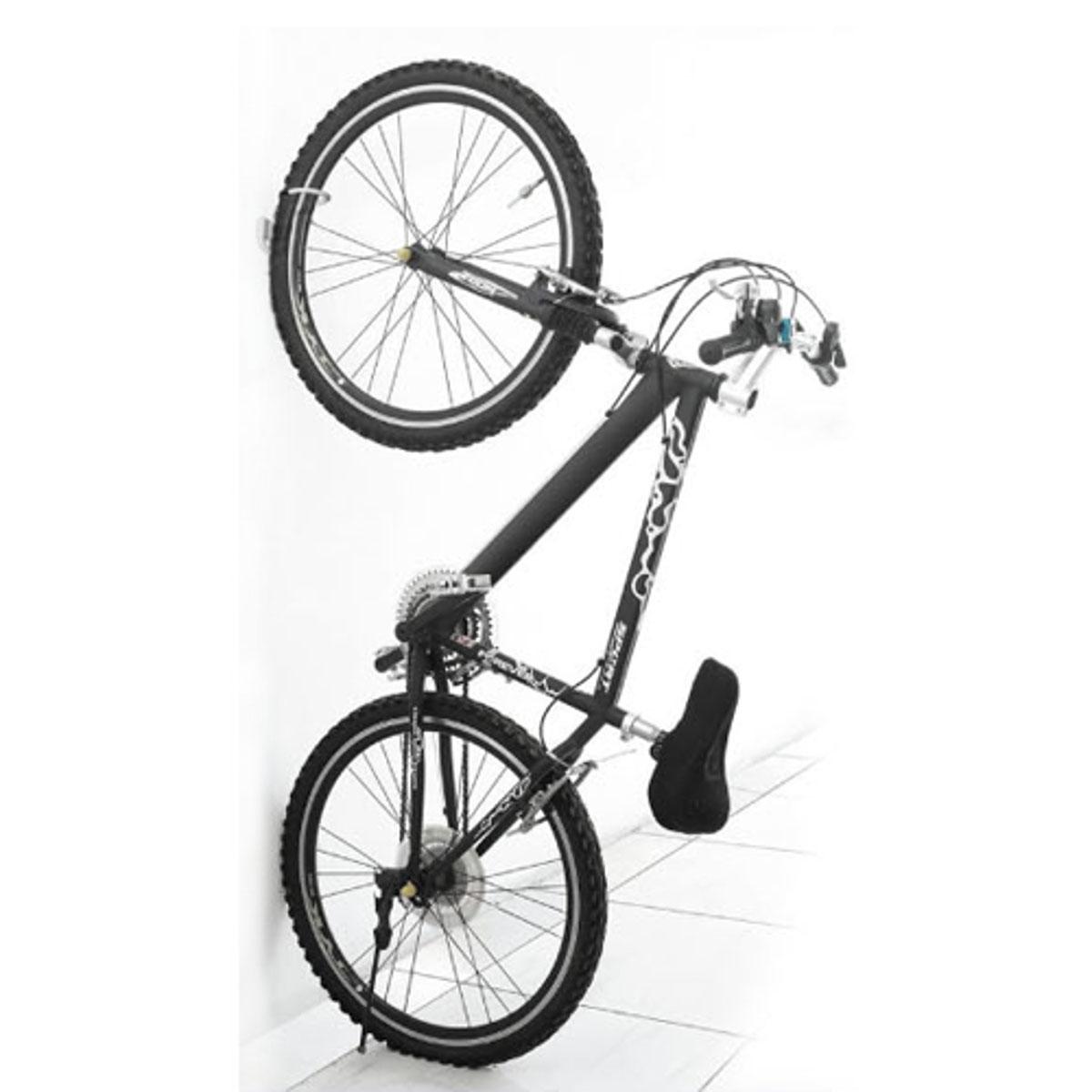 """Подвес для хранения велосипеда """"МастерПроф"""" используется для установки в гаражных или   кладовых помещениях. Изделие служит для удержания велосипеда в подвесном состоянии и   освобождения места для хранения других необходимых предметов. Подвес имеет прочную   конструкцию, максимальная нагрузка может достигать 27 кг.Крепеж в комплекте.     Гид по велоаксессуарам. Статья OZON Гид"""