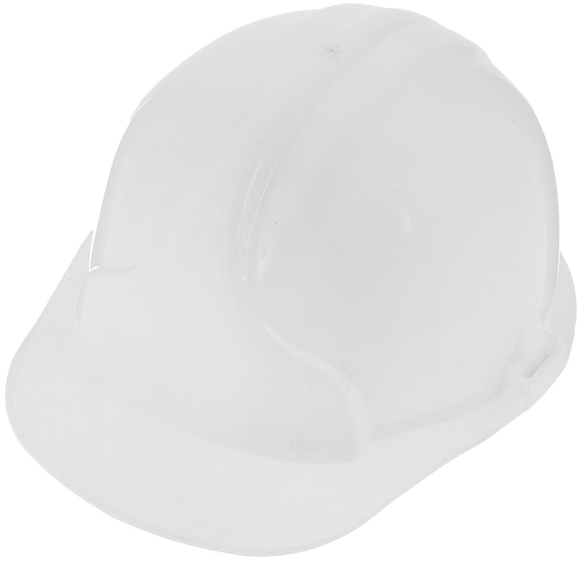 Строительная каска, цвет:  белый ЗКМ