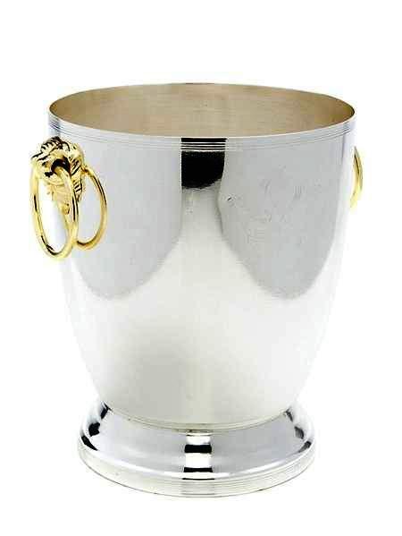"""Ведро для шампанского """"Marquis"""" прекрасно украсит праздничный стол.. Сухая чистка, нельзя мыть в посудомоечной машине (если присутствуют декоративные элементы,  камни, стразы и тд.)  Размер изделия: 18 х 21,5 см. ."""