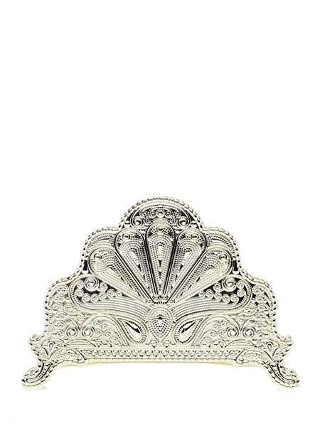 Салфетница Marquis, 13,5 х 2,5 х 9,5 см7091-MRУдобная классическая салфетница Marquis в стиле 18 века, станет прекрасным аксессуаром для вашего интерьера.Размер: 13,5 х 2,5 х 9,5 см.Вес изделия с упаковкой: 0,190 кг. Сухая чистка, нельзя мыть в посудомоечной машине (если присутствуют декоративные элементы, камни, стразы и тд.)