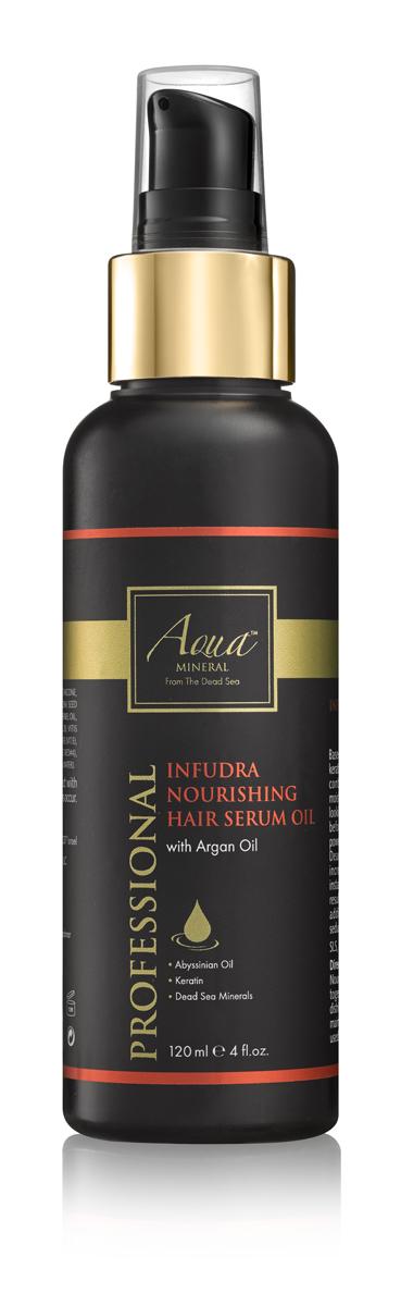 Aqua mineral Масло питательное для волос 120 мл0970Основанное на природных антиоксидантах , масле крамбе (абиссинская горчица) и комплексе кератина, масло смягчает и разглаживает волосы. Благодаря содержанию масла арганы, витамина Е и минералов Мертвого моря , известных своими омолаживающими свойствами,масло питает и увлажняет корни волос, делает их послушными, эластичными, гладкими и блестящими.