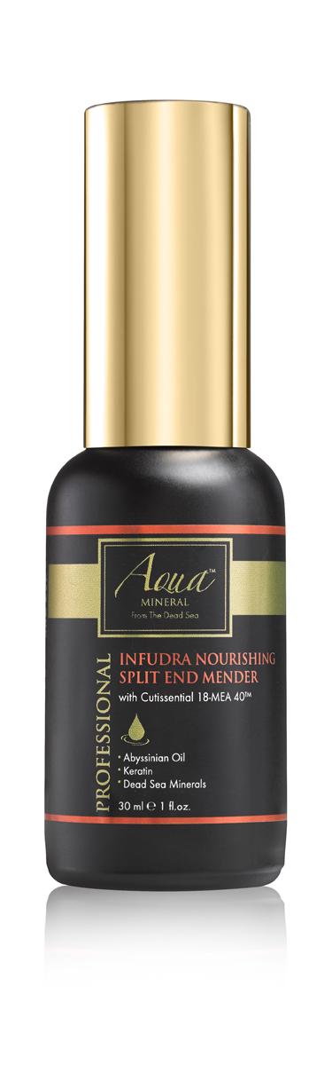 Aqua mineral Средство питательное для ухода за ломкими и секущимися кончиками волос 30 мл1007: Обогащенный запатентованной формулой CUTISSENTIAL 18-MEA 40, это питательное средство эффективно предотвращает ломкость и сечение кончиков волос. Обогащенная витаминами, пептидами, минералами Мертвого моря, маслом Абиссинских семян и семян моркови, формула питает волосы, восстанавливает поврежденные волосы, оживляет и питает кончики волос