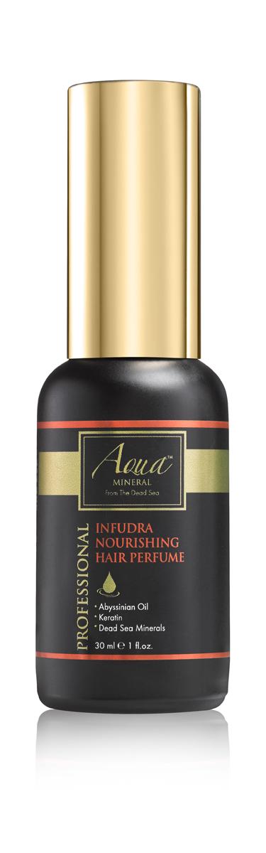 Aqua mineral Средство питательное парфюмированное для волос 30 мл1014Восхитительный аромат и совершенный блеск волос на протяжении всего дня придает средство питательное парфюмированное для волос. Богатая формула, обогащенная кератином и маслом крамбе (абиссинская горчица),питает и придает волосам роскошный аромат.