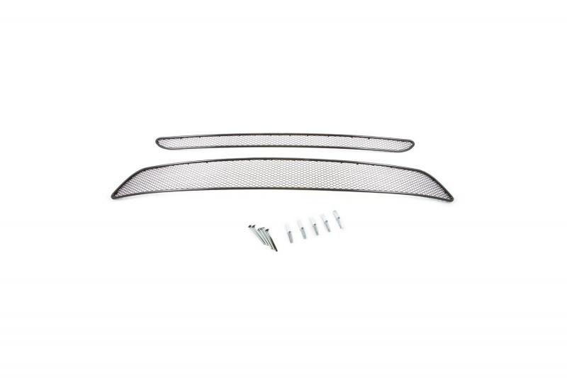 Сетка для защиты радиатора  Novline-Autofamily , для Kia Sorento 2012-2015, 2 шт - Тюнинг и защита - Защита внешних частей
