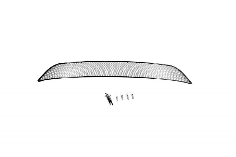 Сетка на бампер внешняя Novline-Autofamily, для MITSUBISHI L200 2010-2013 / Pajero Sport 2010-2013 сетка радиатора защитная внешняя novline autofamily mitsubishi pajero iv 2015 2 шт чёрная 15 мм 01 381115 151