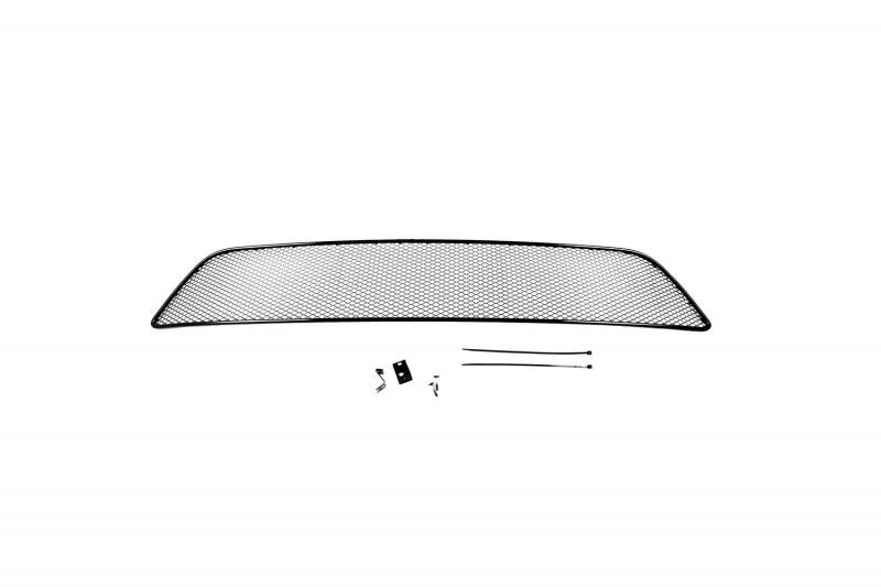 Сетка на бампер внешняя Novline-Autofamily, для MITSUBISHI L200 2014-2015 сетка радиатора защитная внешняя novline autofamily mitsubishi pajero iv 2015 2 шт чёрная 15 мм 01 381115 151