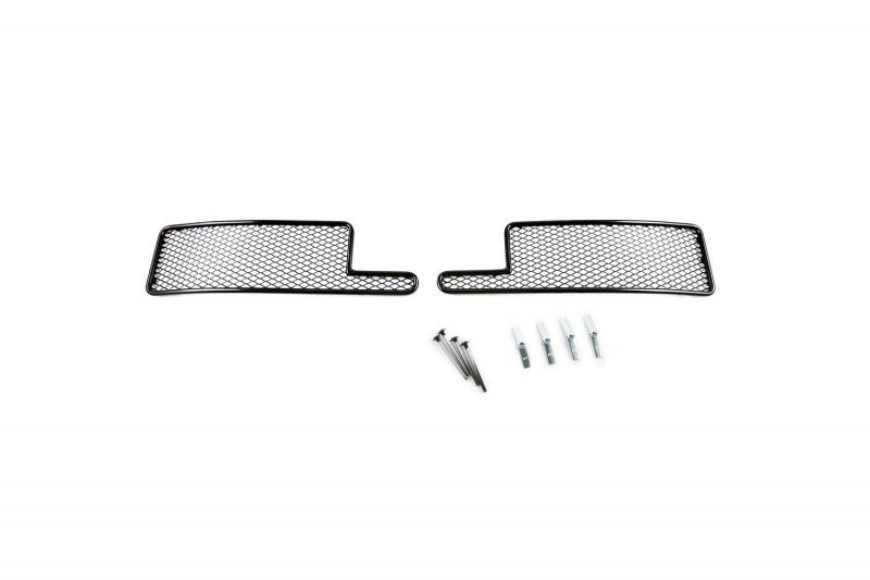 Сетка для защиты радиатора  Novline-Autofamily , для Toyota Land Cruiser 200 2012-2015, 2 шт - Тюнинг и защита - Защита внешних частей