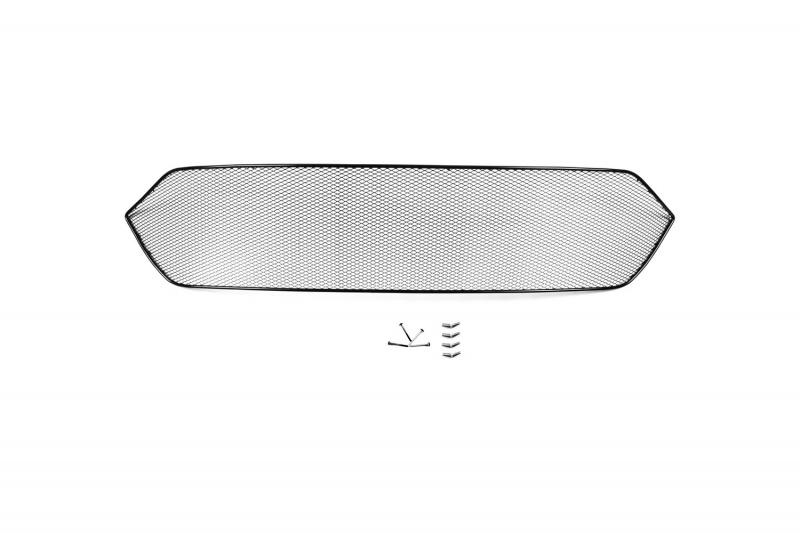 Сетка на бампер внешняя  Novline-Autofamily , для TOYOTA CAMRY 2015-&gt - Тюнинг и защита - Защита внешних частей