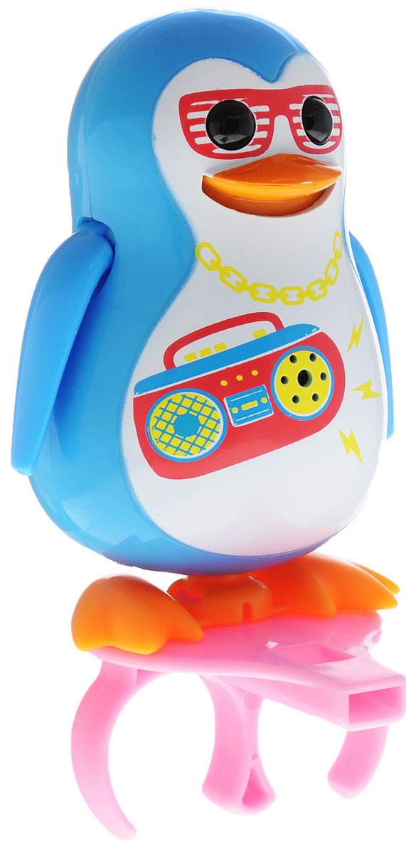 DigiFriends Интерактивная игрушка Пингвин с кольцом цвет голубой digifriends интерактивная игрушка пингвин с кольцом цвет малиновый