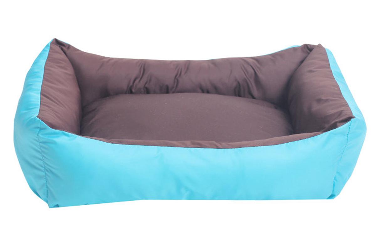 Лежанка для собак Lion Manufactory Уют, цвет: синий, размер M, 44 х 35 х 15 смLM4131-001mЛежанка-трансформер двухсторонняя. К материалу, из которого выполнена данная модель лежанки, не прилипает шерсть животного. Легко стирается. Не боится влаги. Рекомендации: стирка в деликатном режиме 30 градусов. Материал: синтепон, нейлон. Размер лежанки: 440х350х150 мм. Размер спального места: 420х340 мм.