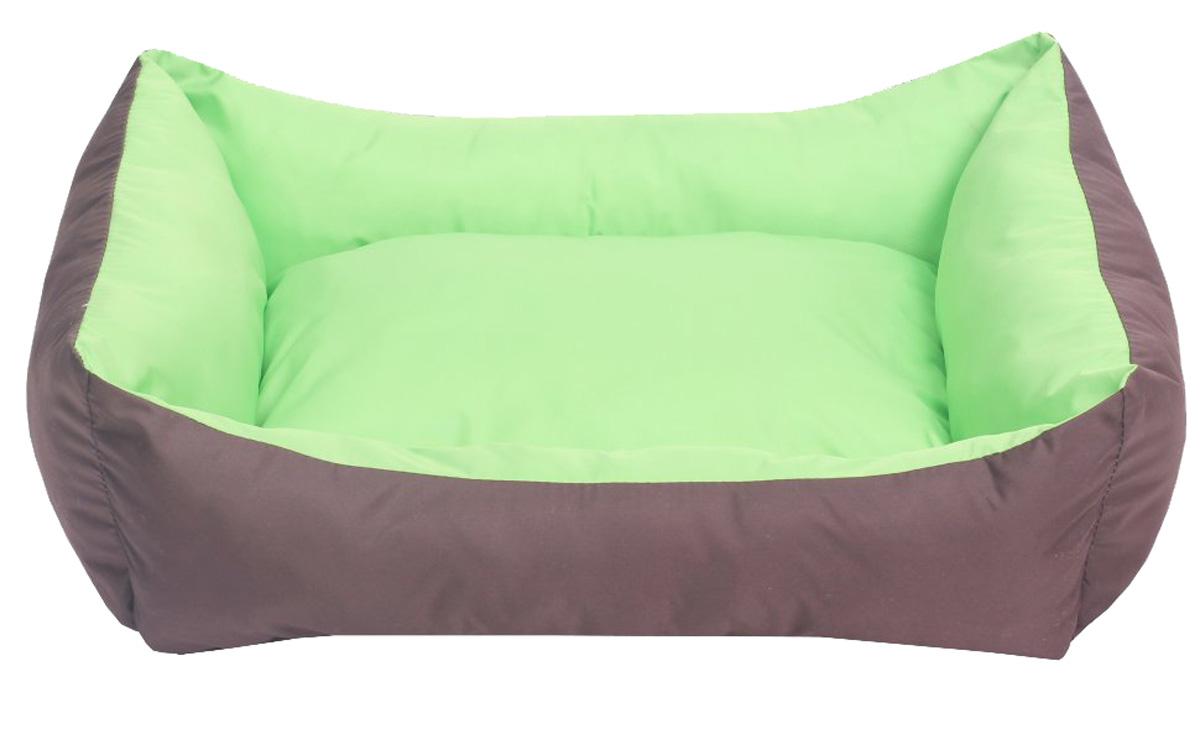 "Фото Лежанка для собак Lion Manufactory ""Уют"", цвет: зеленый, размер S, 42 х 32 х 15 см"