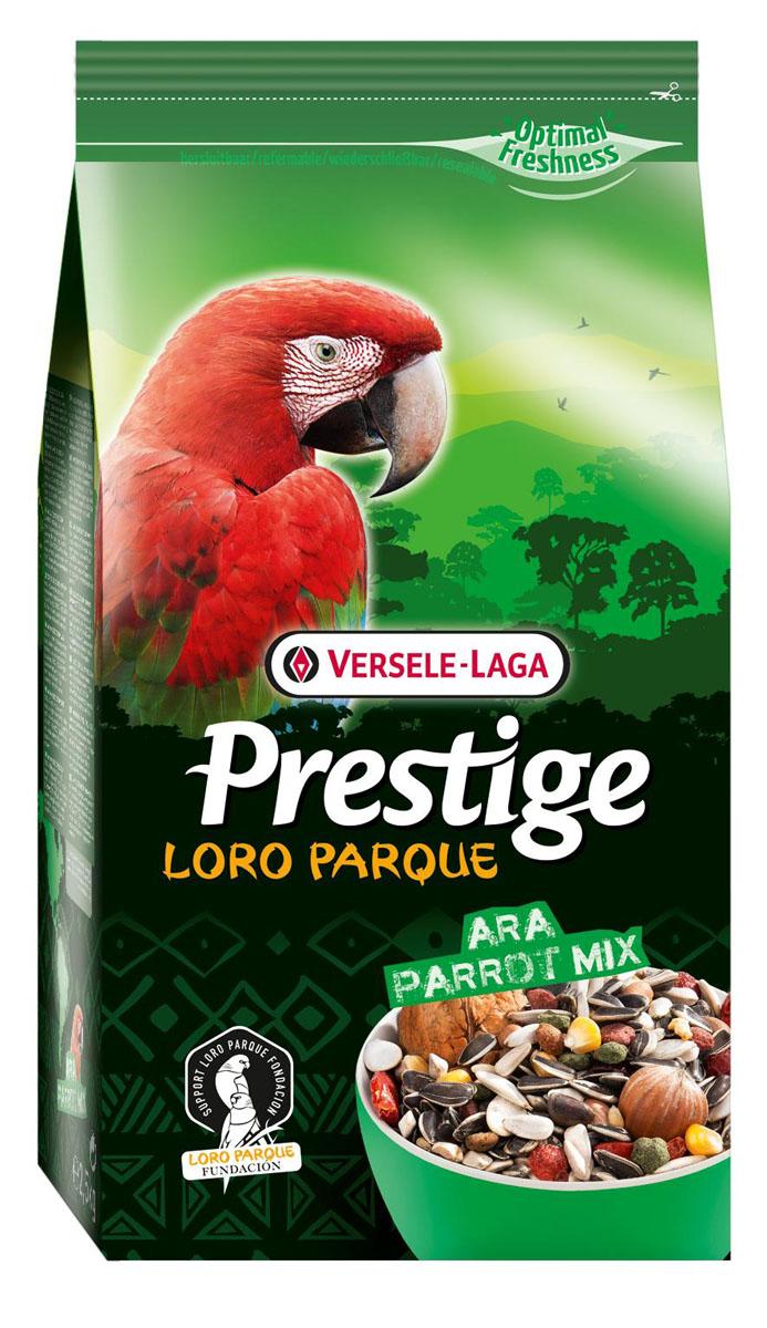 Корм для крупных попугаев Versele-Laga Prestige PREMIUM Ara Parrot Loro Parque Mix, 2,5 кг