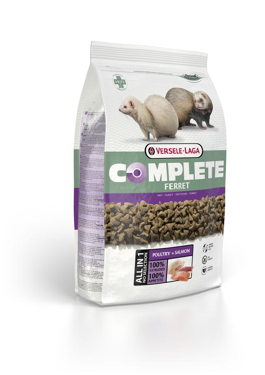 Корм для хорьков Versele-Laga Complete Ferret, 2,5 кг сухой корм bosch petfood totally ferret active корм для хорьков 1 75кг