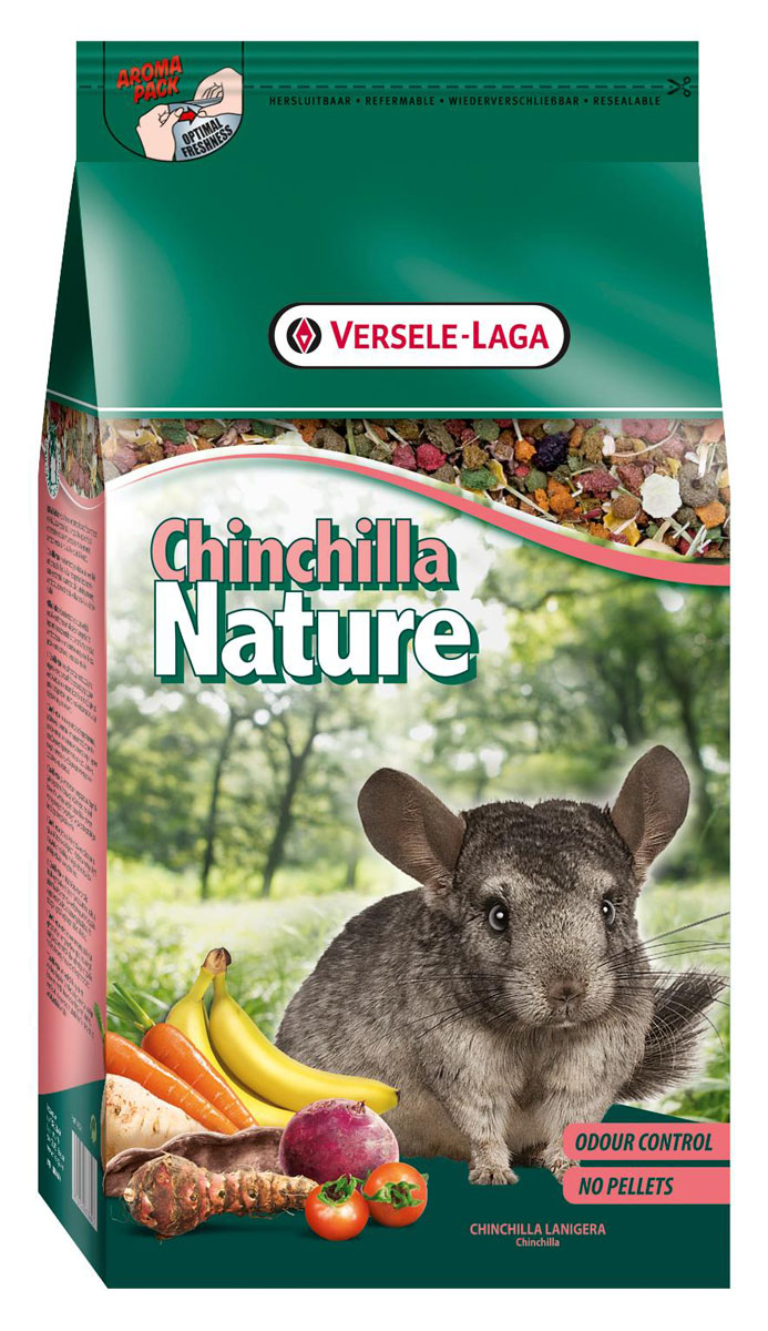 Корм для шиншилл Versele-Laga Nature Chinchilla, 2,5 кг versele laga nature cavia