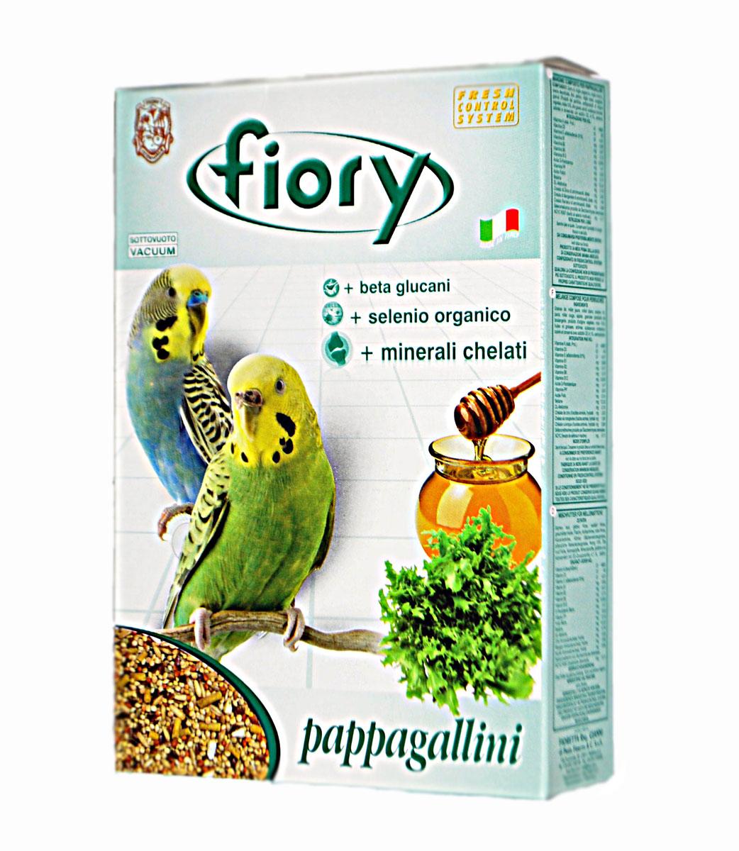 Корм для волнистых попугаев Fiory Pappagallini, 400 г6019Смесь для попугаев Fiory Pappagallini содержит девять видов семян, обеспечивающих сбалансированный и разнообразный рацион для волнистых попугайчиков.Кроме обычных, общеизвестных семян, мы также использовали очень редкие семена сафлора.Сафлор дает довольно маслянистые семена, которые в Азии употребляют в пищу. Семена облегчают запоры, а также улучшаю пигментацию.Данная смесь, наряду с другими продуктами Fiory, также была обогащена медом и растительными гранулами. Удобная и практичная упаковка смеси позволит дольше радовать свою птичку вкусным и ароматным кормом.Смесь питательная, обогащена полезными веществами, которые позволяют поддерживать здоровье организма птицы.Масса: 400 г. Ингредиенты: желтое, белое и красное просо, очищенный овес, просо обыкновенное, канареечник, мед 10%, овощи 4,1%, масла, натуральные консерванты, (содержащиеся антиоксиданты одобрены Советом Европы), сафлор.Товар сертифицирован.