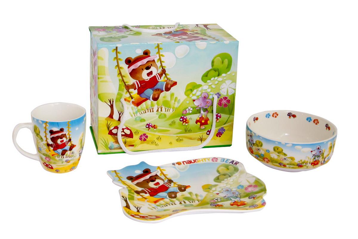 Rosenberg Набор детской посуды 8784 disney набор детской посуды королевские питомцы 3 предмета