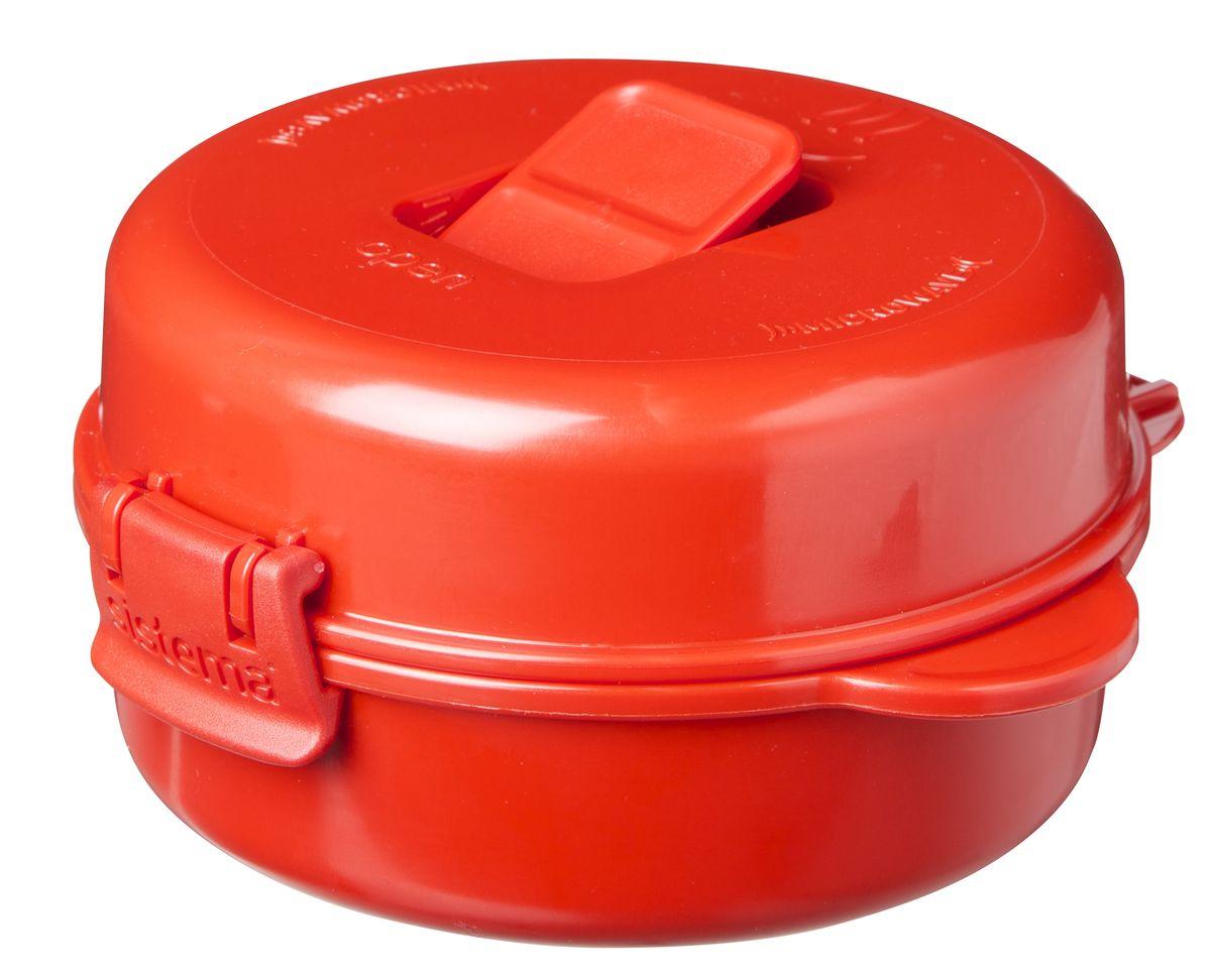 Омлетница-яйцеварка Sistema Microwave, цвет: красный, 271