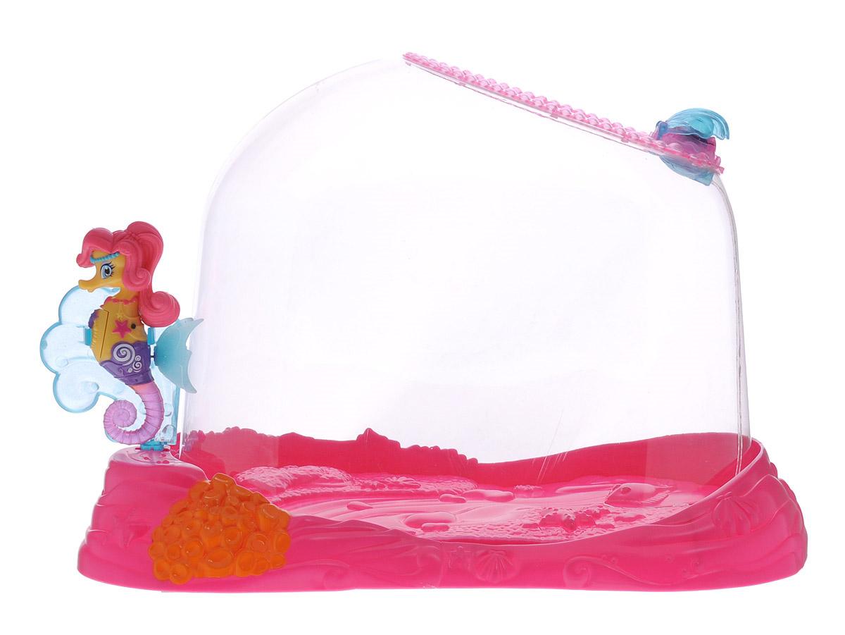 Robofish Интерактивная игрушка Морской конек Лола с аквариумом стоимость