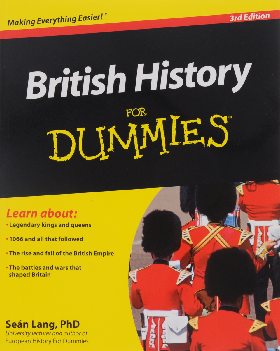 British History For Dummies, 3rd Edition free ship 1 set 12pc children kids wooden metal percussion orff musical instrument set music early education