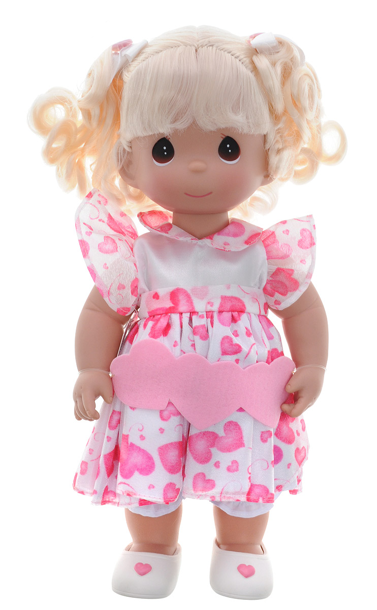 Precious Moments Кукла Сердце блондинка куклы и одежда для кукол precious кукла балерина рыжая 30 см