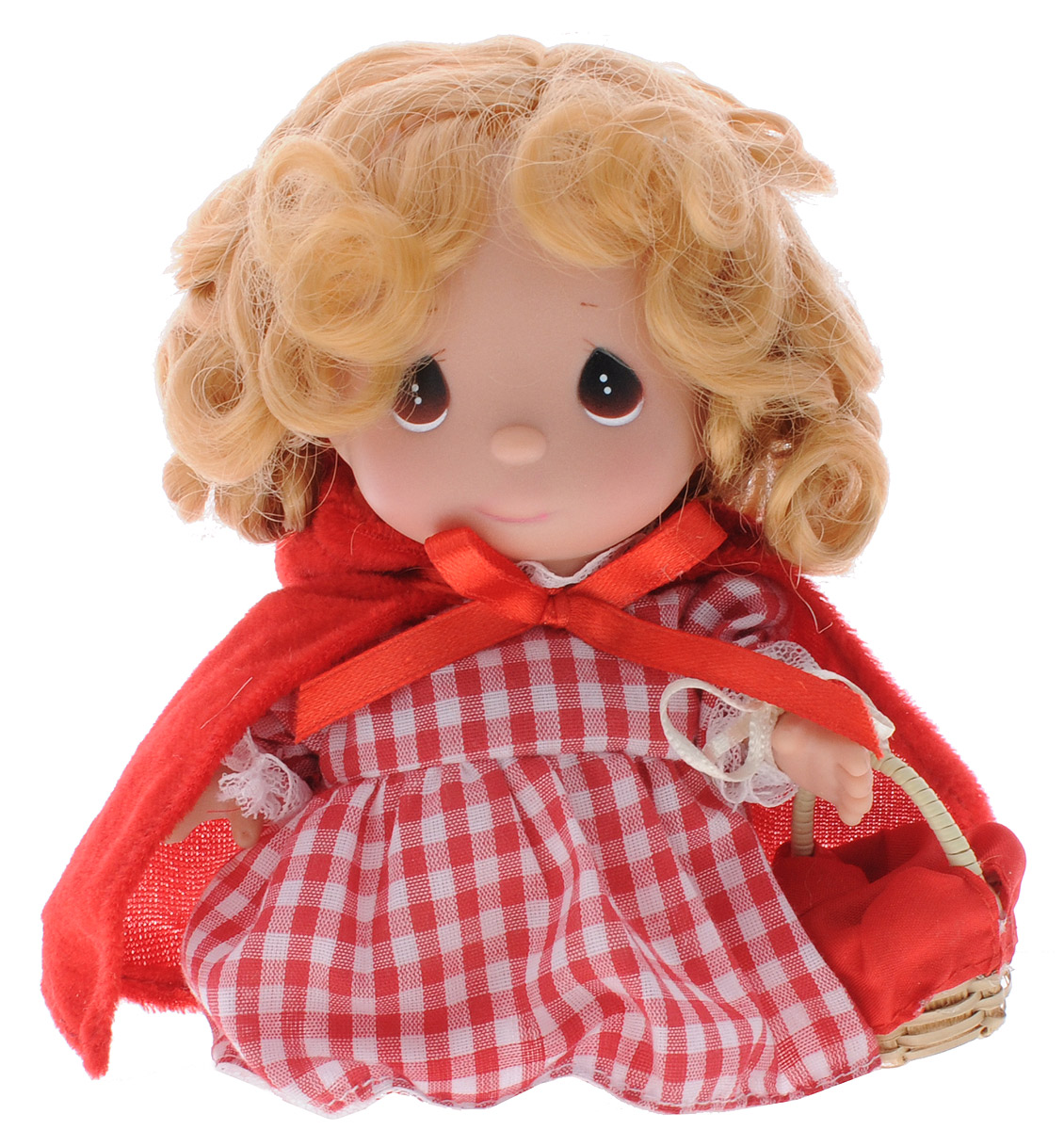 Precious Moments Мини-кукла Красная шапочка precious moments мини кукла пастушка цвет платья светло коралловый