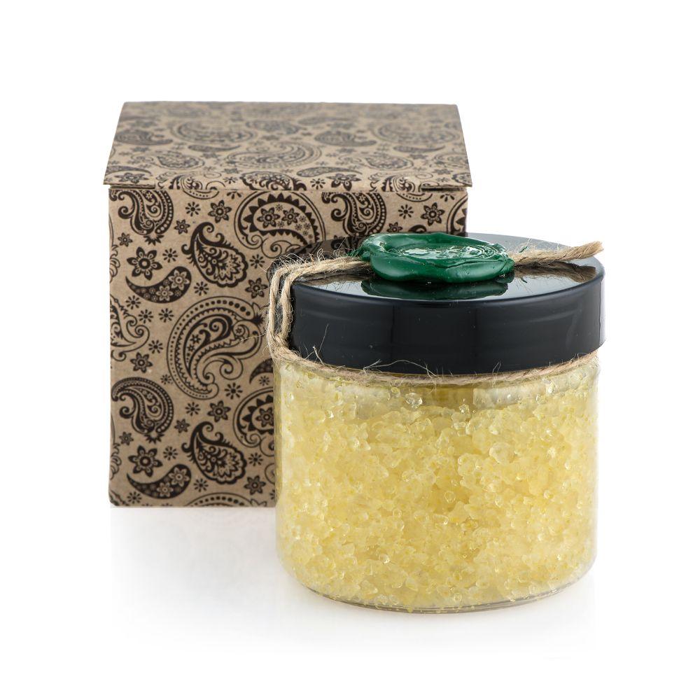 Huilargan Натуральная соль мертвого моря для ванны с аргановым маслом, 300 г